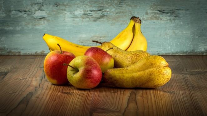 Apfel Birne Banane