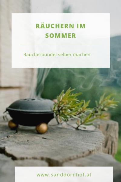 Raeuchern Im Sommer